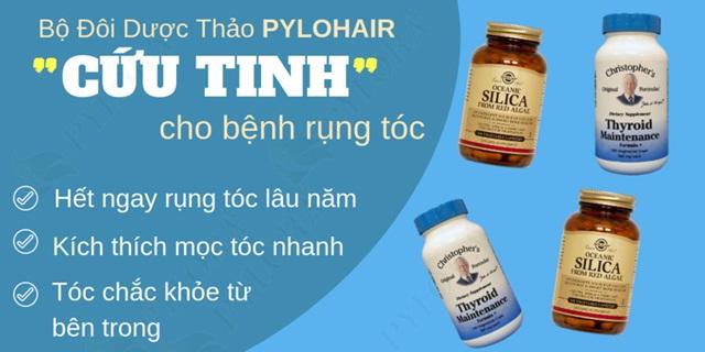 Bộ đôi Dược thảo PyLoHair – Đánh tan nỗi lo rụng tóc