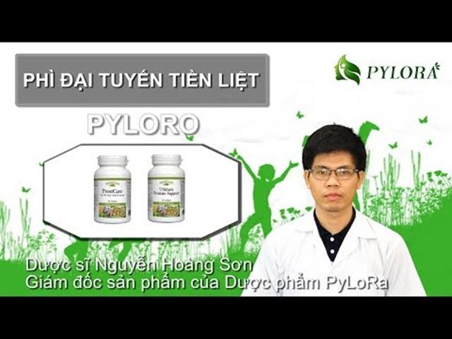 Bộ đôi dược thảo PyLoRo chữa bệnh phì đại tuyến tiền liệt