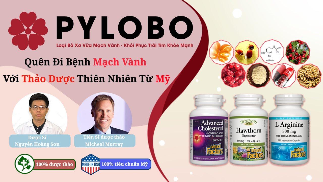 Bộ ba dược thảo PyLoBo đã giúp chú Thành cải thiện tình trạng hẹp mạch vành, hết vôi hóa