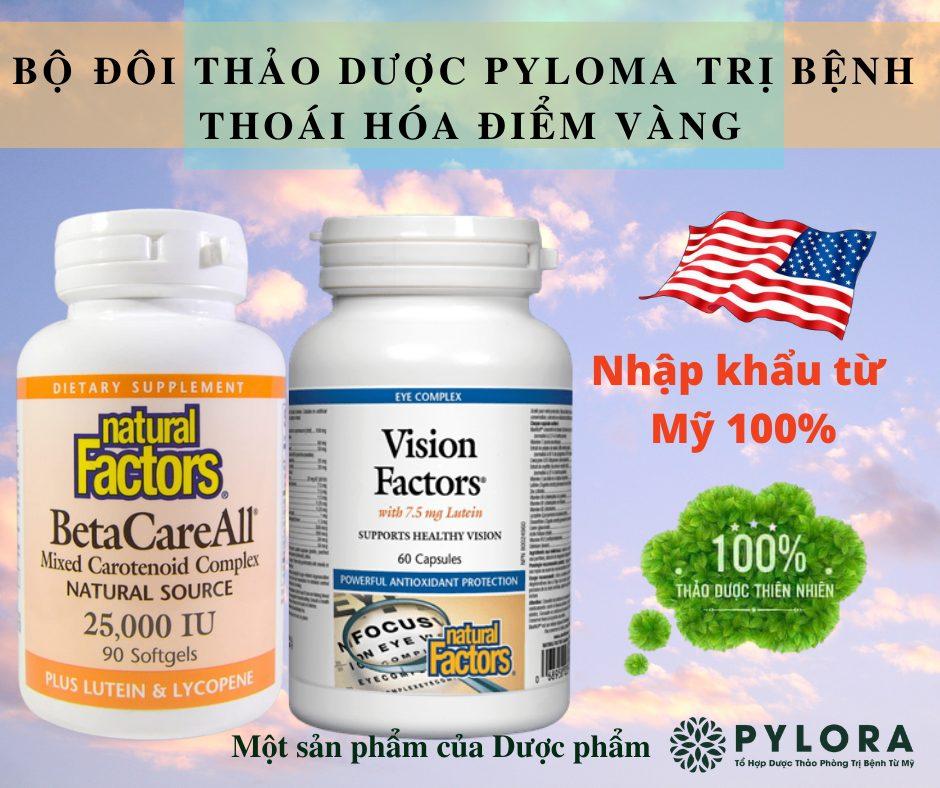 Bộ đôi dược thảo PyLoMa từ Mỹ