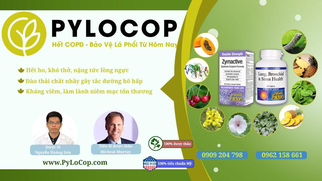 Bộ đôi dược thảo PyLoCop từ Mỹ hết sạch COPD