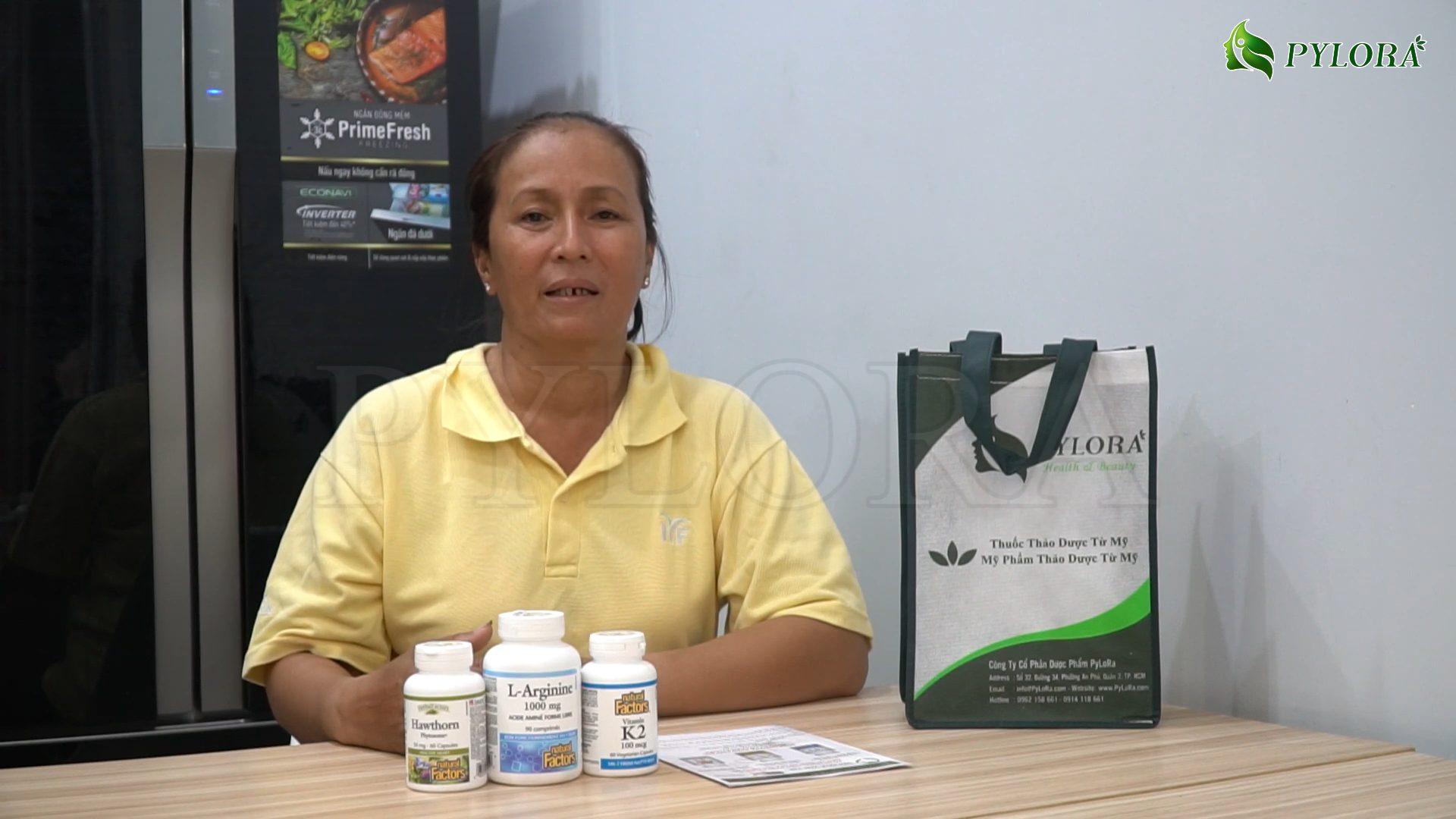 Chia sẻ từ cô Trương Thị Lai đã hết vôi hóa van tim nhờ bộ ba dược thảo PyLoBlo