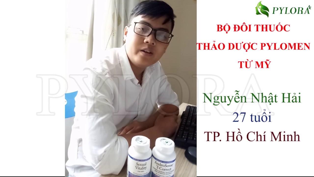 Anh Hải chia sẻ về hiệu quả dược thảo PYLORA