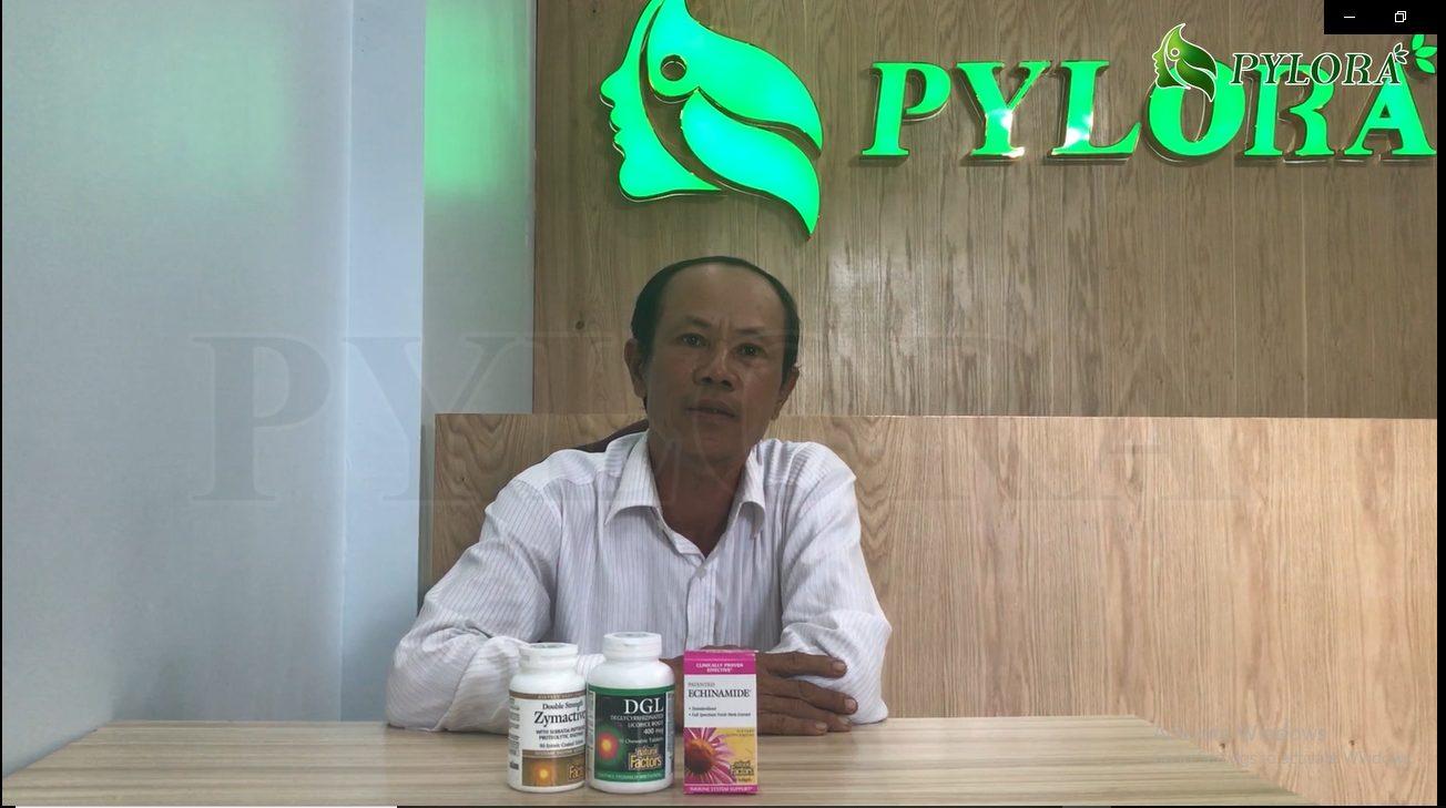 Chú Luận chia sẻ cùng PyLoRa về bệnh nhiệt miệng