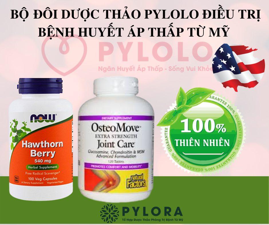 Bộ đôi dược thảo PyLoLo hết huyết áp thấp, ổn định sức khỏe tim mạch