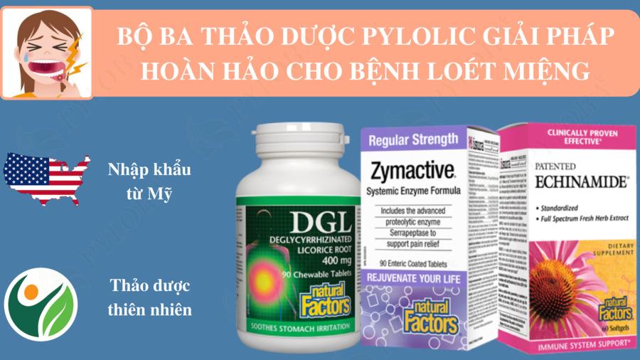 Bộ ba dược thảo PyLoLic từ Mỹ giúp chú Hùng hết nhiệt miệng