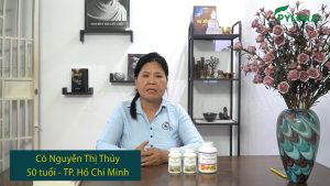 Chia sẻ của cô Nguyễn Thị Thủy về quá trình sử dụng bộ đôi dược thảo PyLoLo ngăn ngừa huyết áp thấp
