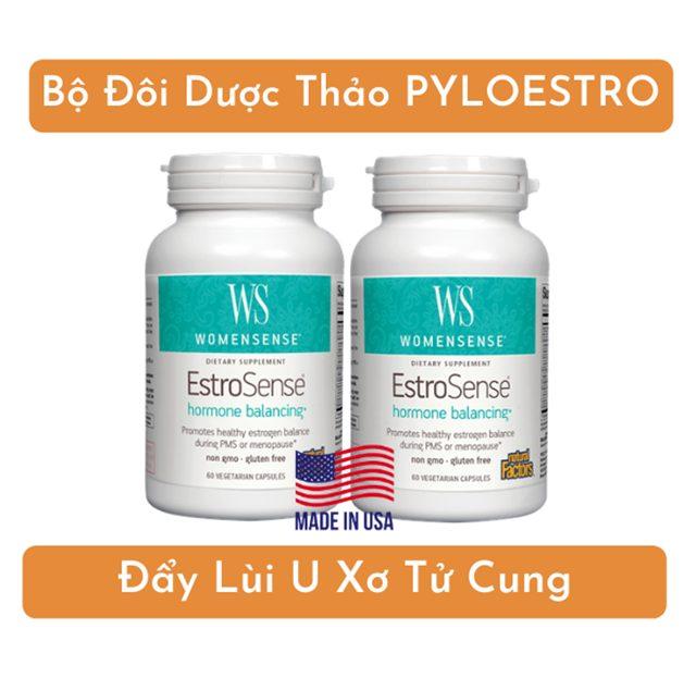 Bộ đôi dược thảo PyLoEstro giúp cân bằng nội tiết cho phái nữ