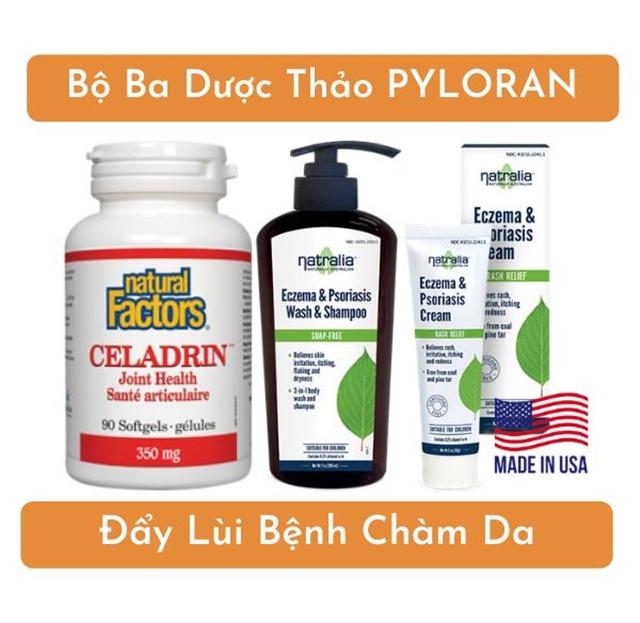 Bộ ba dược thảo PyLoRan đẩy lùi chàm da